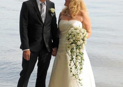 Bröllopsfoto på Ekerö