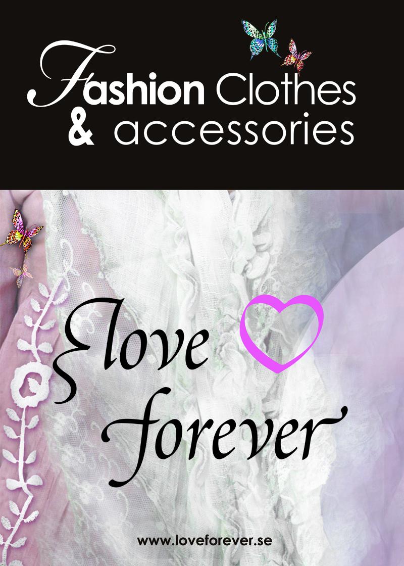 Artgraphic har jobbat med grafisk form av katalo för Love Forever