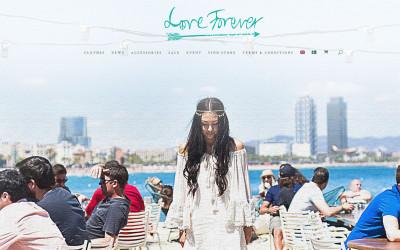 Ny sida för Love Forever