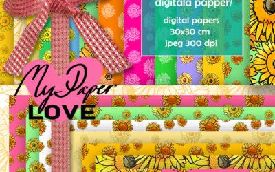 Nytt erbjudande på min sida för Scrapbooking och digitala papper – My Paper Love