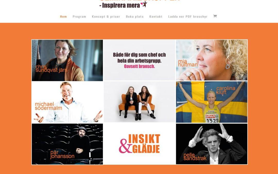Ny hemsida för Seminariegruppen AB