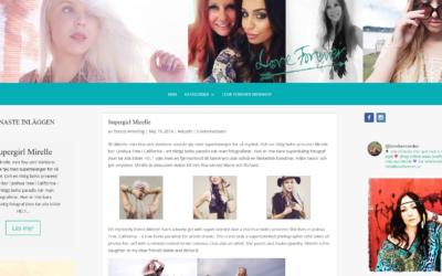 Nytt bloggtema